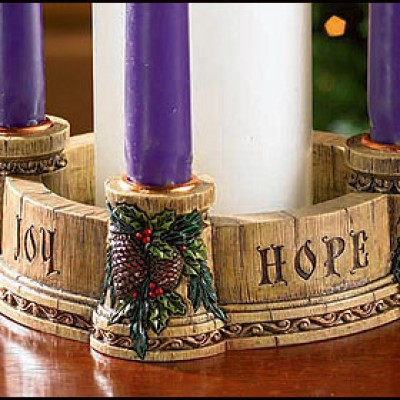 advent wreath graphic