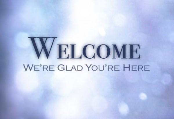 church welcome