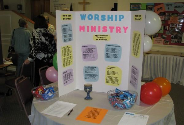 Ministry Fair - Fall 2015