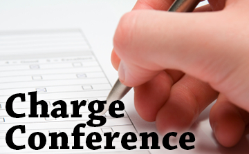 charge conference graphic