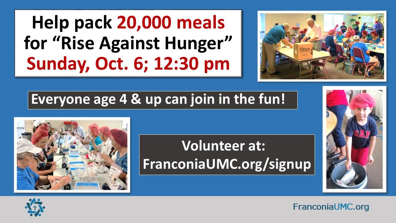 This Week @ FUMC | Franconia United Methodist Church